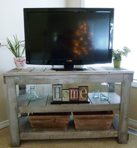 TV Stand After