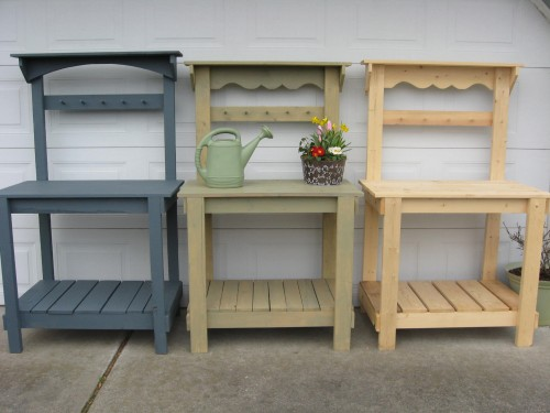 3 Ft Potting Benches New Price 99 Dream Garden Woodworks