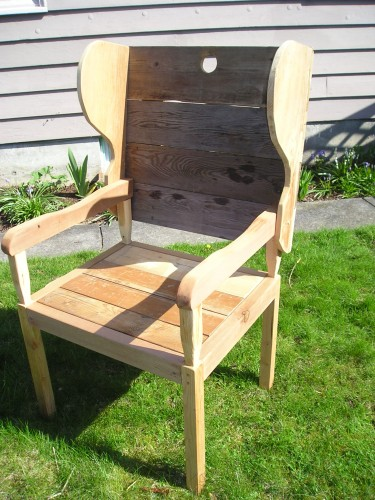 Whimsical Custom Chair