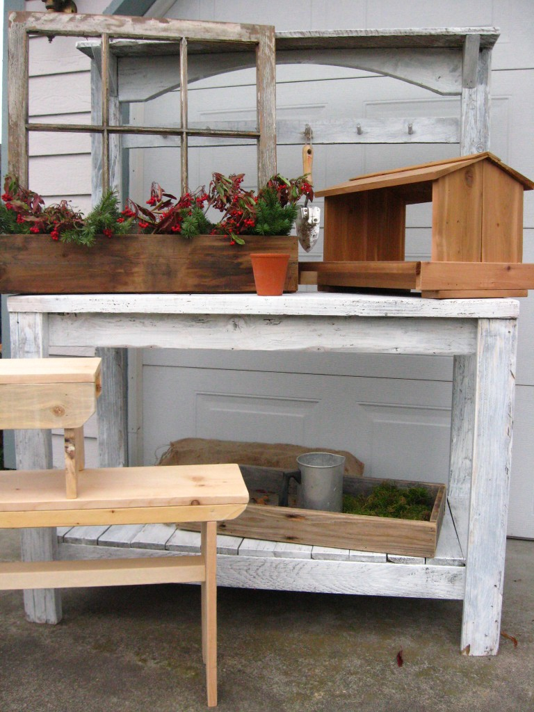 shabby chic potting bench for sale dream garden woodworks