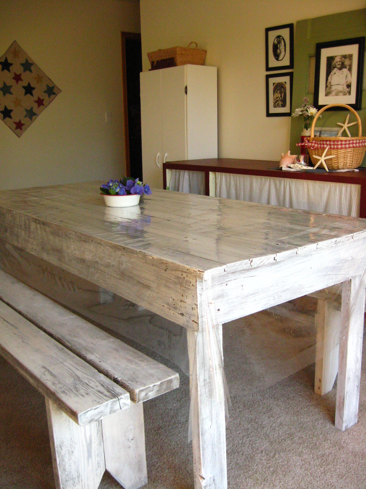 shabby chic table benches whitewashed barn table benches