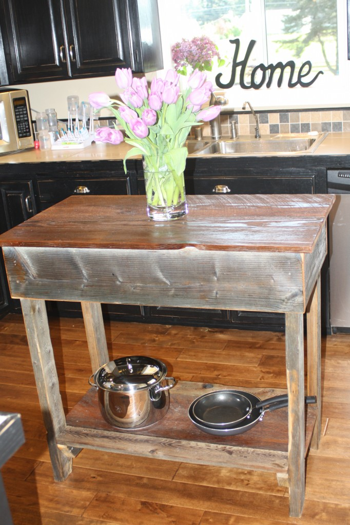 rustic kitchen island dream garden woodworks