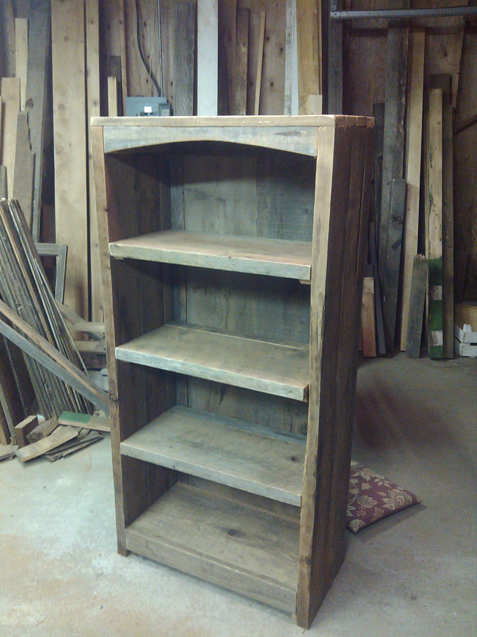 2012 10 21 kenner bookcase on rustic barn home plans