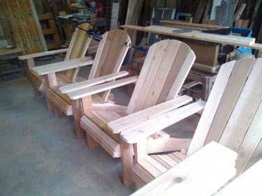 unfinished adirondacks