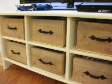 rustic boxes with handles